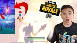 LA FUSÉE DÉCOLLE DEVANT MOI ! FORTNITE BATTLE ROYALE - Néo The One