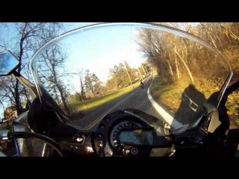 GoPro Camera on a Sport Motorcycle