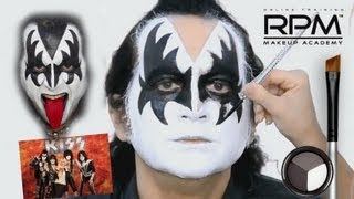 The Official Gene Simmons Makeup Look KISS