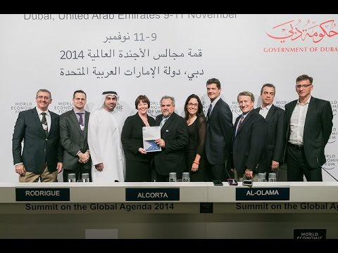 Dubai 2014 - Press Conference on the Future of Manufacturing Report Launch