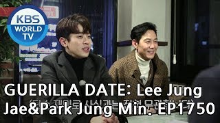 Guerilla Date:  Lee Jungjae & Park Jungmin [Entertainment Weekly/2019.02.18]