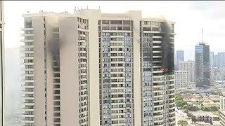 At least 3 dead, 12 injured in Hawaii tower block blaze