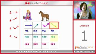 Learn Chinese with eTeacher -  Lesson 1