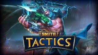 Smite Tactics: Poseidon is Melee!?- Poseidon Gameplay