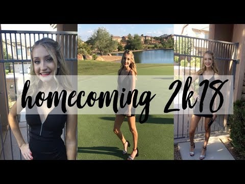 homecoming 2018: get ready with me and vlog!!!