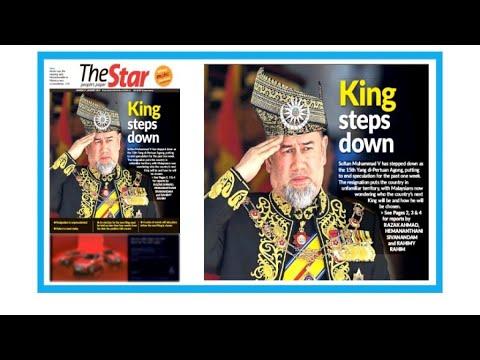 """Dans la presse - """"Le roi de Malaisie, la pin-up russe et l'abdication"""""""
