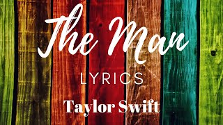 Tha Man (Lyrics) | Taylor Swift