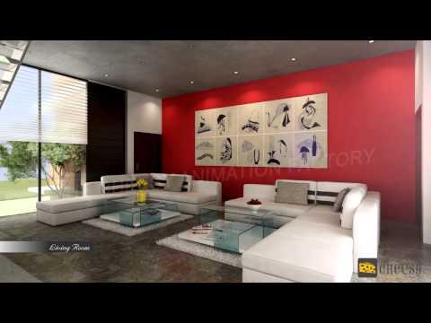 3D Home Interior Design   Office   Kitchen Rendering Studio