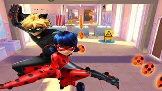 MIRACULOUS LADYBUG AND CAT NOIR Game Gameplay Video| Episode 1 FIrst Levels!