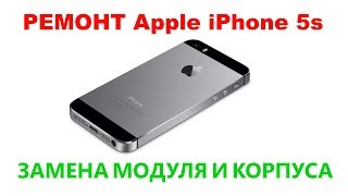 Apple iPhone 5s Ремонт, замена модуля и корпуса