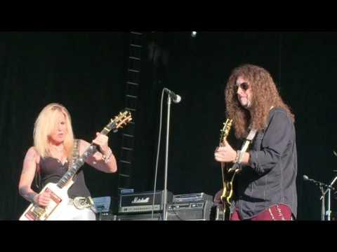 Jeff Scott Soto & Lita Ford Close my Eyes Forever Scrap Metal Howie Simon