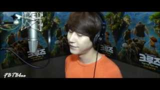 Eng CC [Audio] Kyuhyun Luna Shine Your Way, The Croods OST 130413