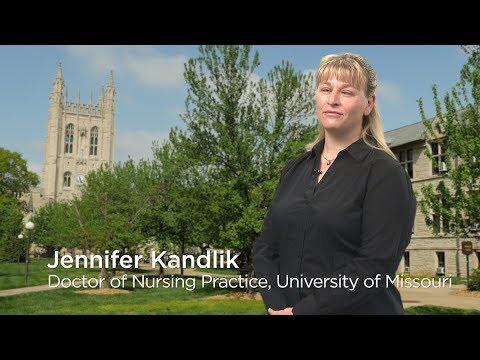 University of Missouri Online Commencement, Jennifer Kandlik