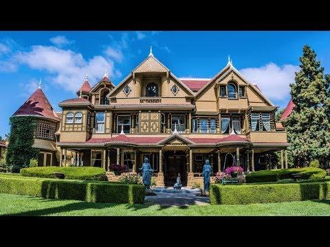 МИСТИЧЕСКИЙ ДОМ ВИНЧЕСТЕРОВ. Winchester Mystery House. San Jose, California, USA