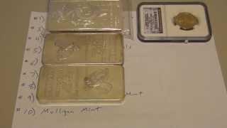 My Top 10 List of Precious Metals Dealers