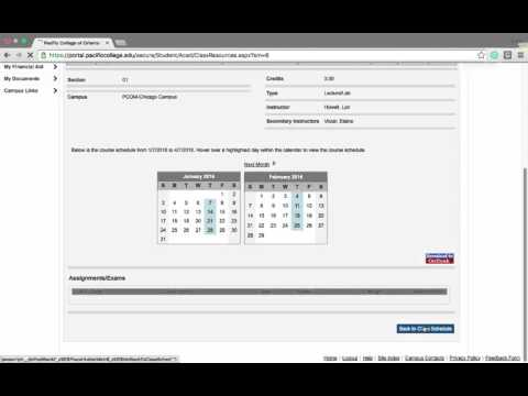 Academic Info Portal Video