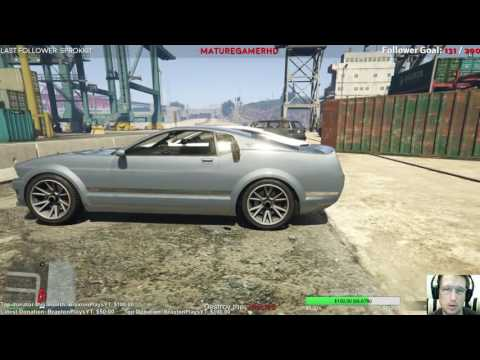 Let's play GTA V Online 1st person - Streaming (uncut) - Ep.18