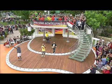 Mr.Da-Nos live @ ZDF Fernsehgarten mit The Product G&B ft. Maury