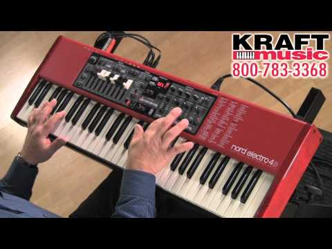 Kraft Music - Nord Electro 4D Keyboard Demo with Chris Martirano