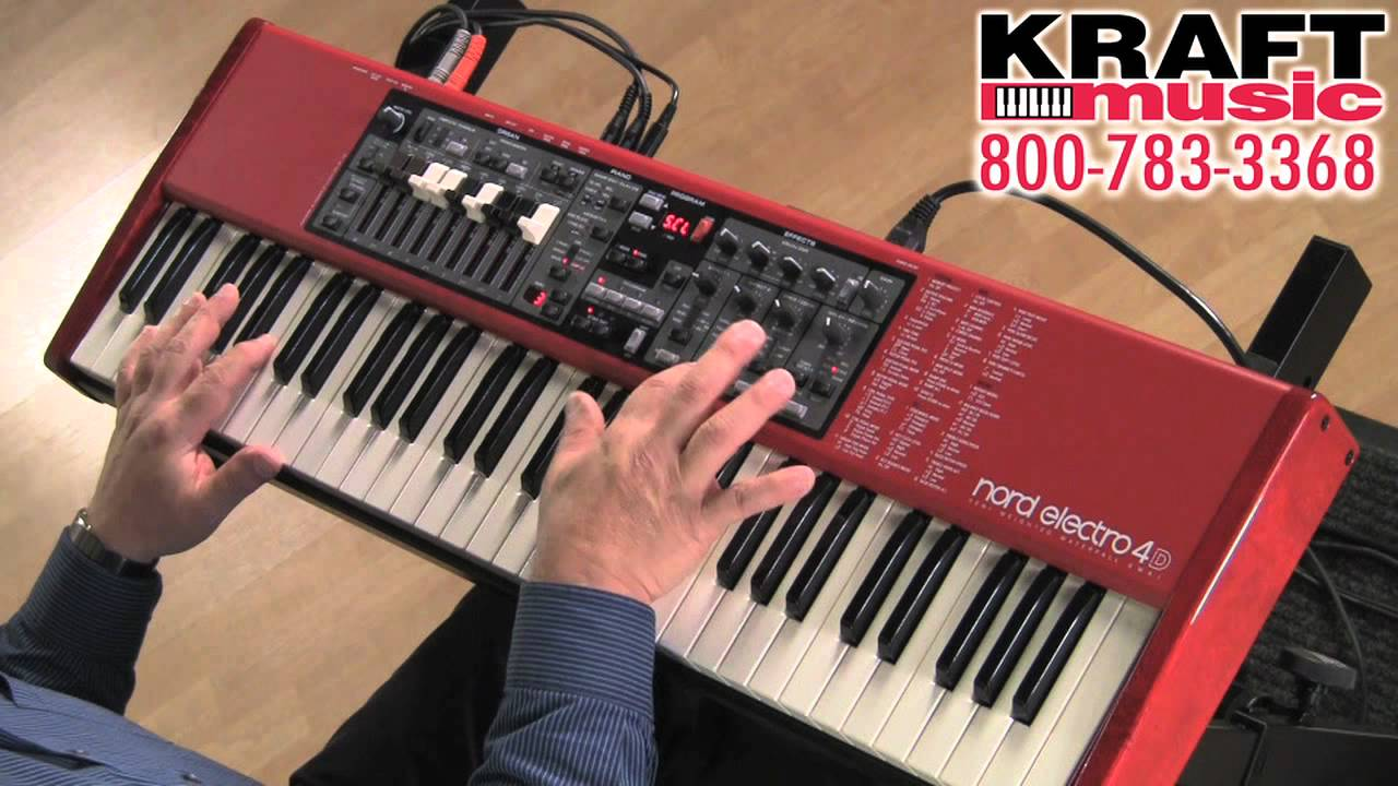 Nord Electro 4d : kraft music nord electro 4d keyboard demo with chris martirano youtube ~ Hamham.info Haus und Dekorationen