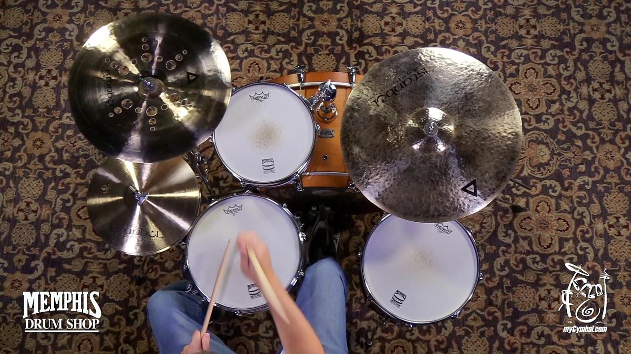 "Istanbul Agop Xist Brilliant Raw Ride Cymbal 22/"" Video Demo"