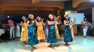 Hula Dance with Bamboo Sticks