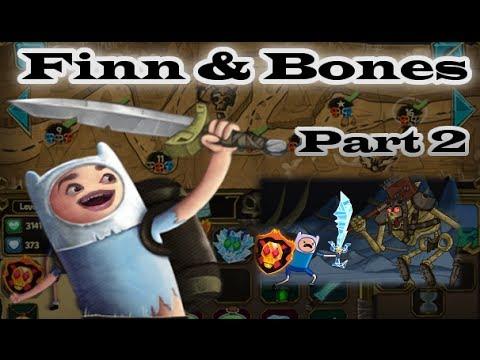 Adventure Time - Finn & Bones [ Full Walkthrough ] Part 2