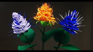 Paper Flowers | Paper Crafts For School | Paper Flowers | Paper Flowers Easy