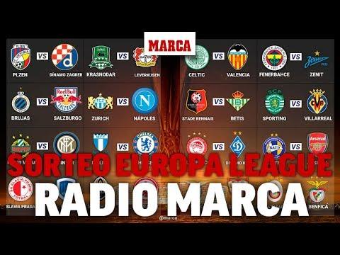 Sorteo de Europa League 2018/2019: Radio Marca