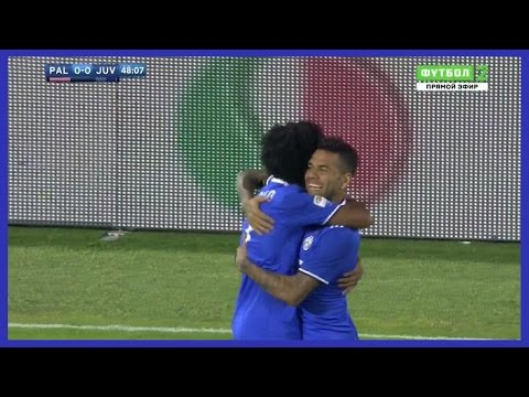 Dani Alves vs Palermo (Away) 24/09/2016 | Russian Commentary | HD
