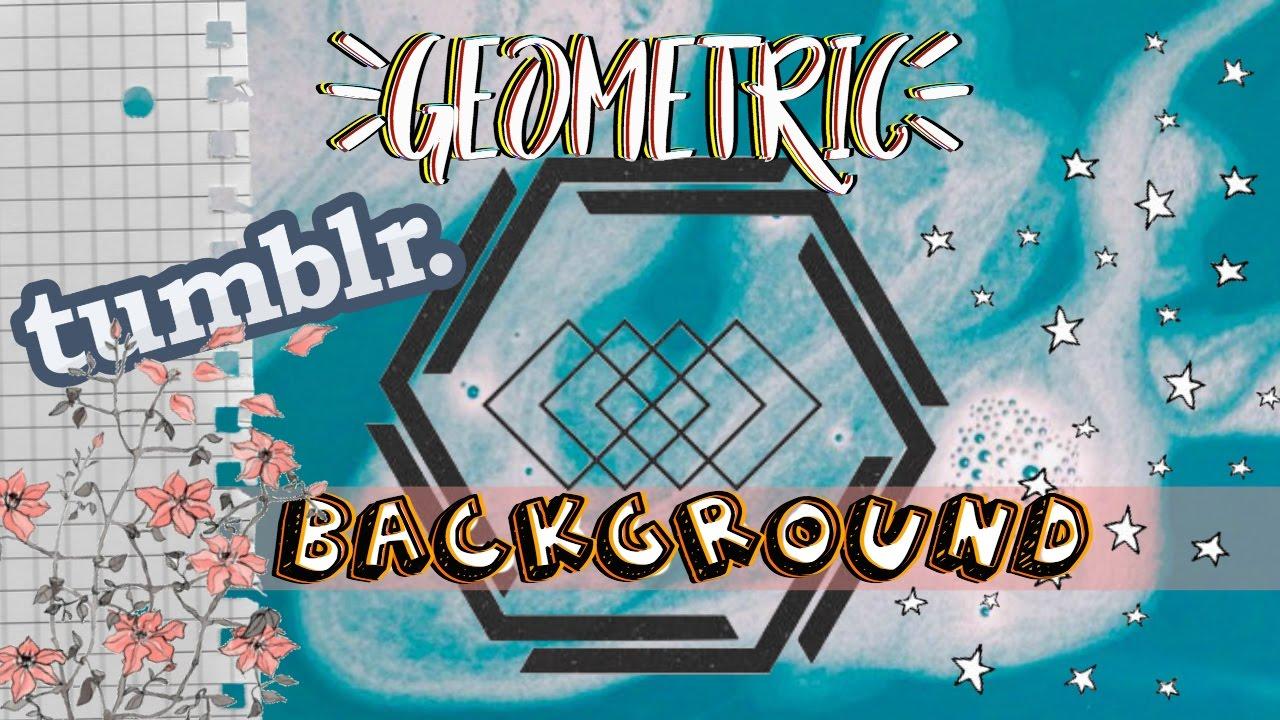 animated geometric background tumblr inspired background