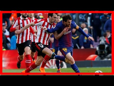 Liga : le Barça s'impose tranquillement contre Bilbao