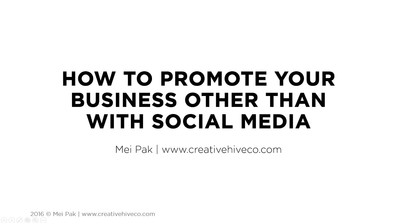 How To Promote Your Handmade Business Other Than With Social Media