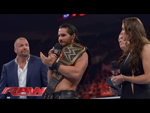Dean Ambrose invades Raw in a paddy wagon: Raw, May 25, 2015
