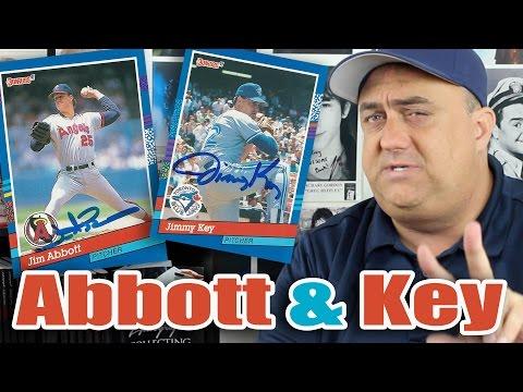 Double Jims! Jim Abbott and Jimmy Key TTM Successes!