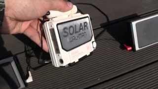 Sony Solar Walkman WM-F107 FM/AM Stereo Cassette Player Radio Operation