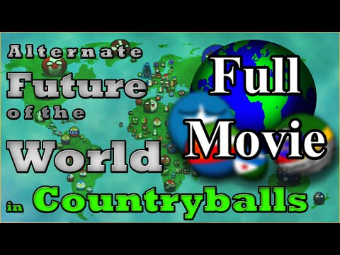 Alternate Future of the World in Countryballs | Season 1 The Movie | Rise of New Abyssinia