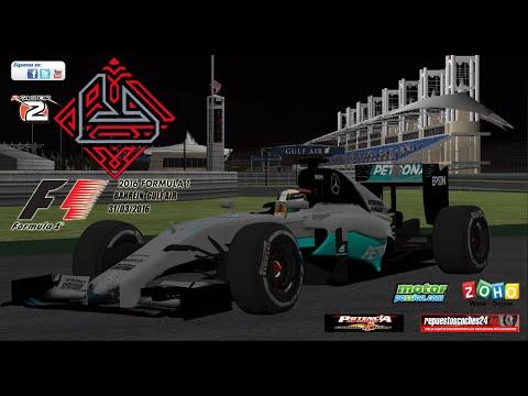 F1 2016 rFactor 2 | 2 - GP BAHRAIN [Sahkir]
