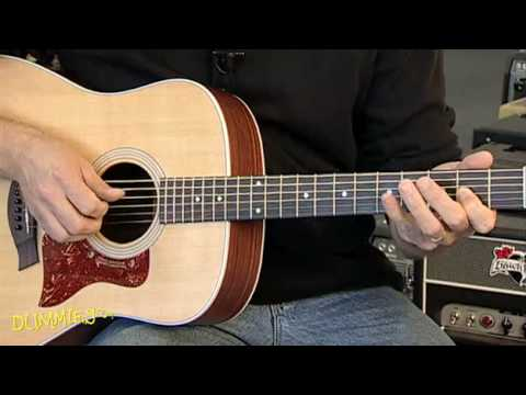 How to Play the Major Scale on a Guitar For Dummies