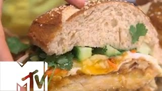 Philly Pretzel Banh Mi Schnitzel - Brothers Green: Eats | Mtv Uk