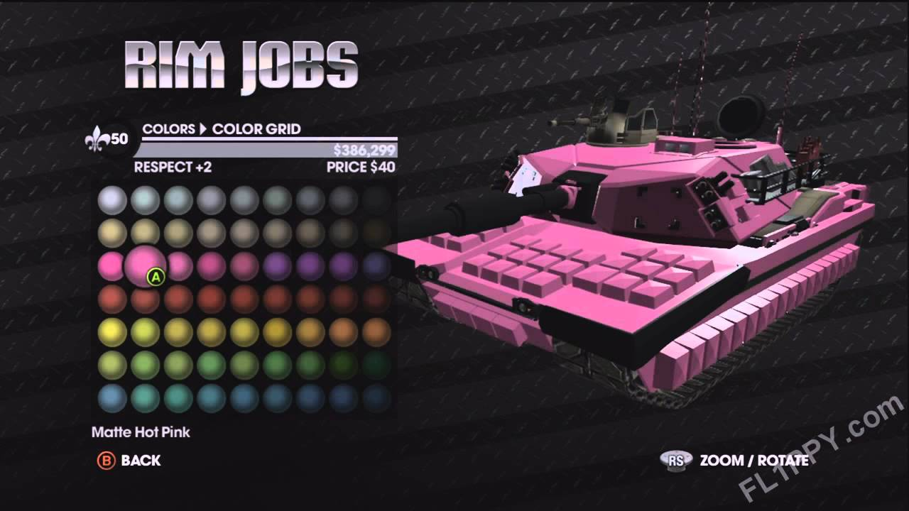 Customize Non-Customizable Vehicles in Saints Row: The Third ...