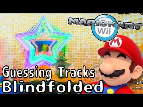 Which Track am I Racing On? - Blindfolded Ep4 - Mario Kart Wii Challenge