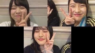 bayfm ON8+1生放送前に配信 山田 菜々美 (AKB48 チーム8) 倉野尾 成美 ...