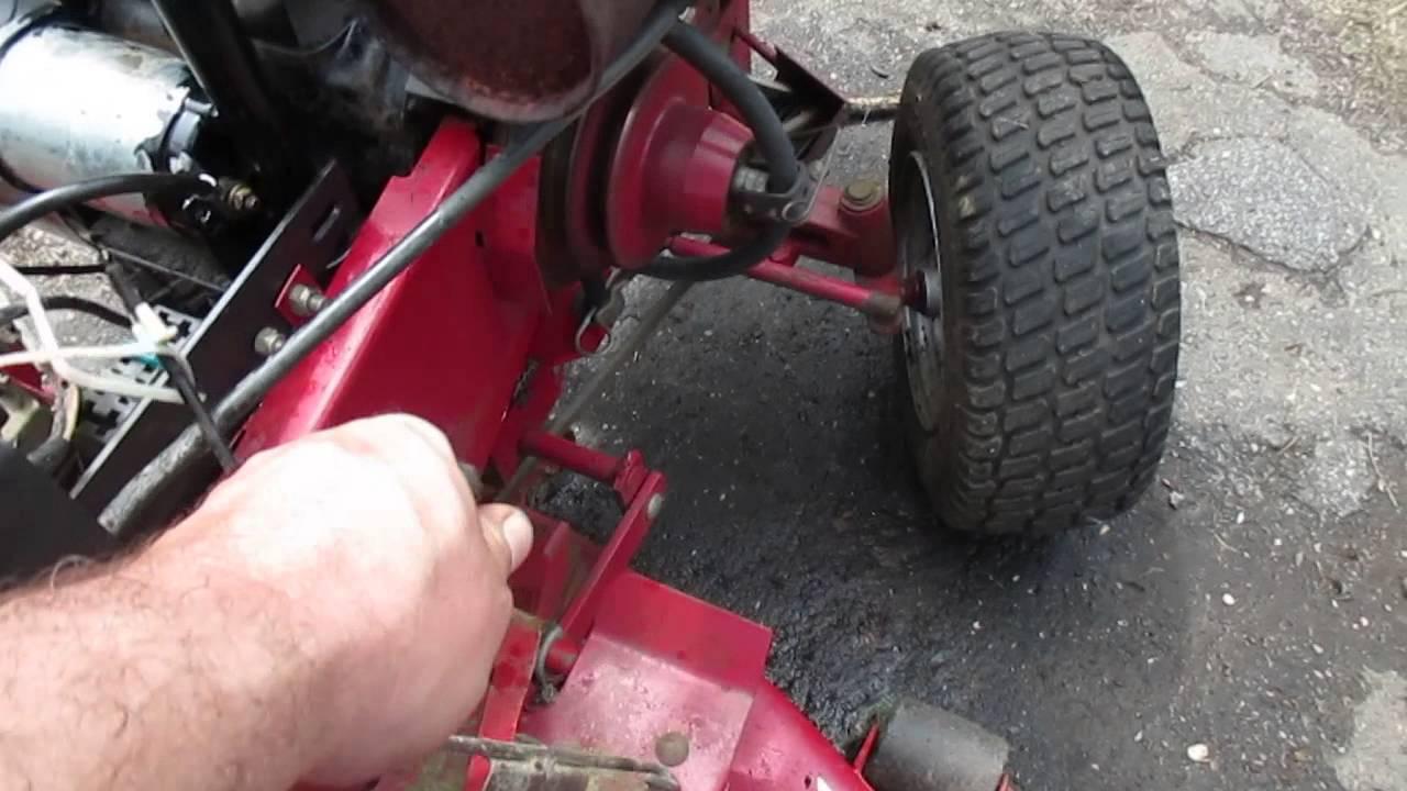wheel horse 314 garden tractor kohler engine [ 1280 x 720 Pixel ]