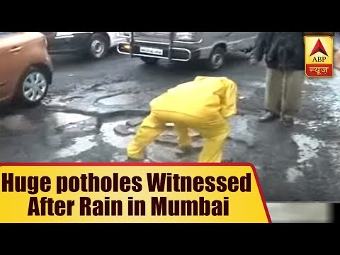 Huge potholes Witnessed After Rain in Mumbai; BMC Now Comes To Rescue