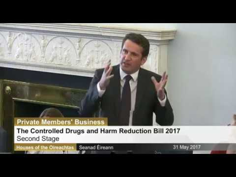 Seanad: The Controlled Drugs and Harm Reduction Bill 2017 -