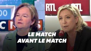 Marine Le Pen et Nathalie Loiseau: duel sur fond d'élections européennes