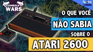 Atari 2600 É o melhor videogame - console wars 4