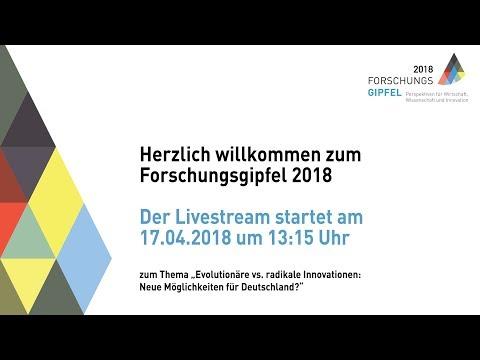 #Forschungsgipfel 2018 - Evolutionäre vs. radikale Innovationen: Neue Möglichkeiten für Deutschland?