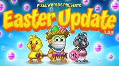 Easter has come to Pixel Worlds!